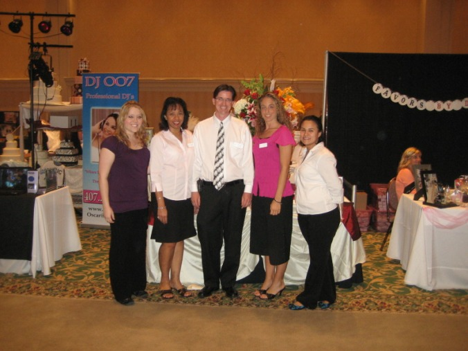Staff 27 PWG Bridal Show June 2009