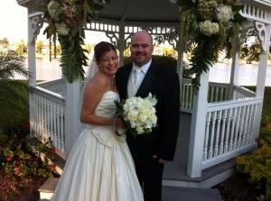Brooke and Jason Davis Island Club Tampa