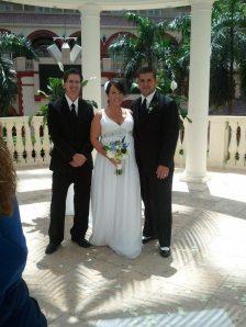 Sarah and Bryan Gaylord Palms Hotel.Orlando