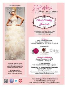 Brides Agaisnt Breast Cancer Feb 2013