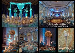 Collage  of decor