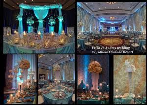 Collage  of decor