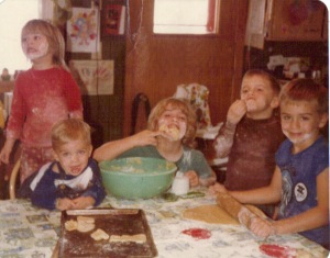 Baking-up-a-storm-for-Christmas-1981