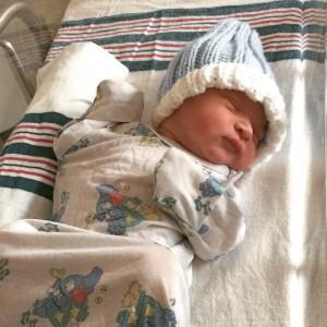 Baby born today Feb 13 2015